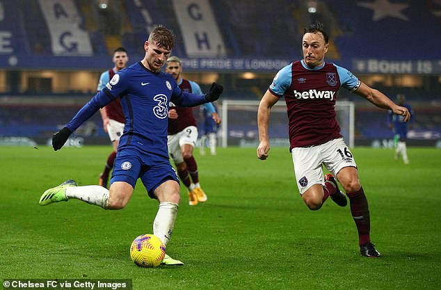 West Ham will host Chelsea in a massive clash in the race for Champions League football on Saturday