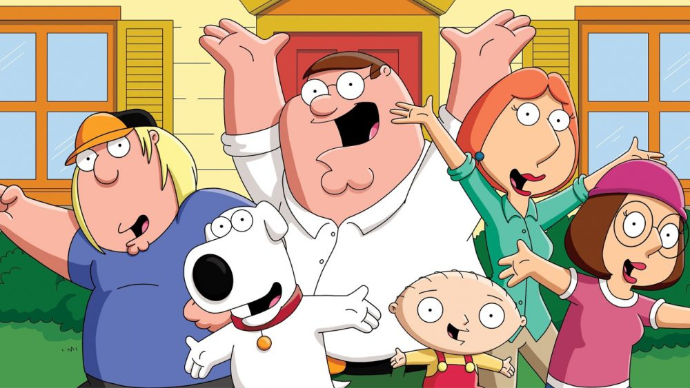 Are Seasons 1 20 Of Family Guy On Netflix